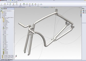 The Viks was designed using SolidWorks